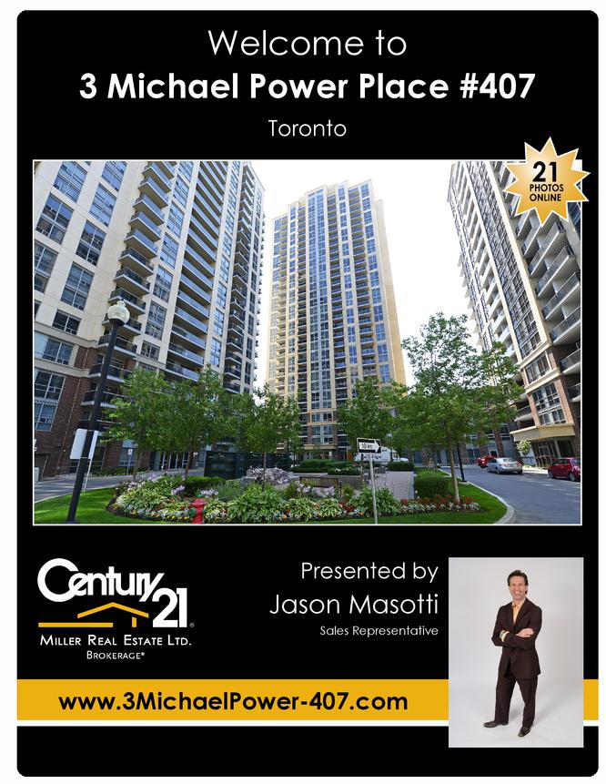 3 Michael Power Place 407 Toronto