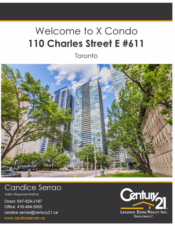 110 charles street e 611 toronto for 110 charles street east floor plan